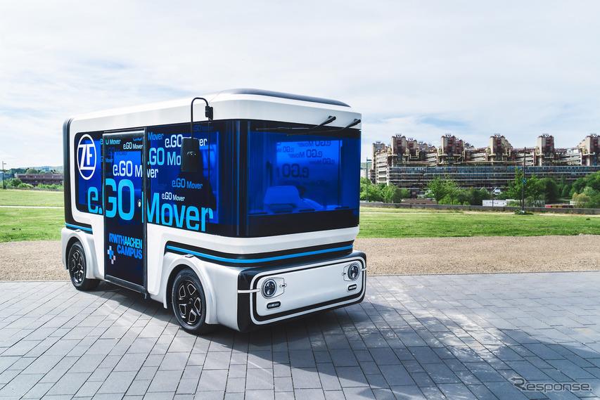 加速する次世代モビリティ開発、ZFの電動コンパクト商用車e.Goムーバー…Transdevも参加