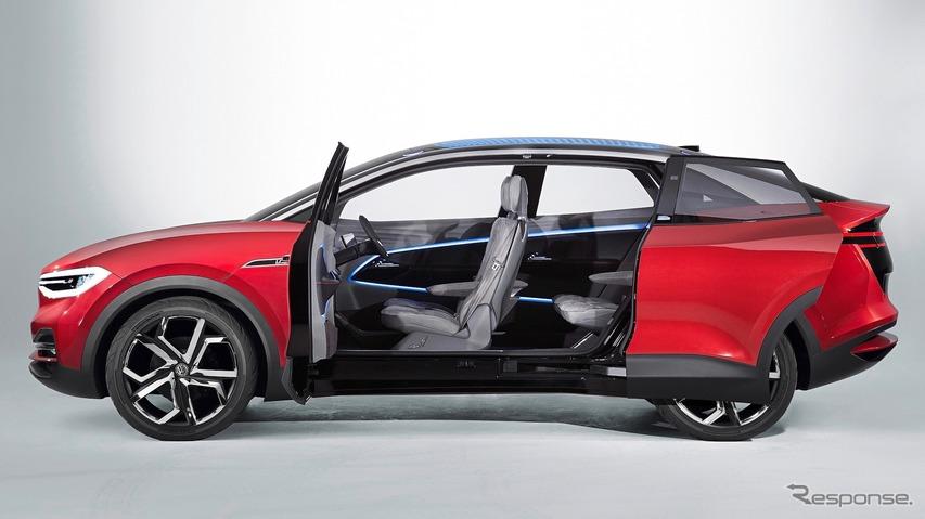 VWのEVスタディ:ID. クロス