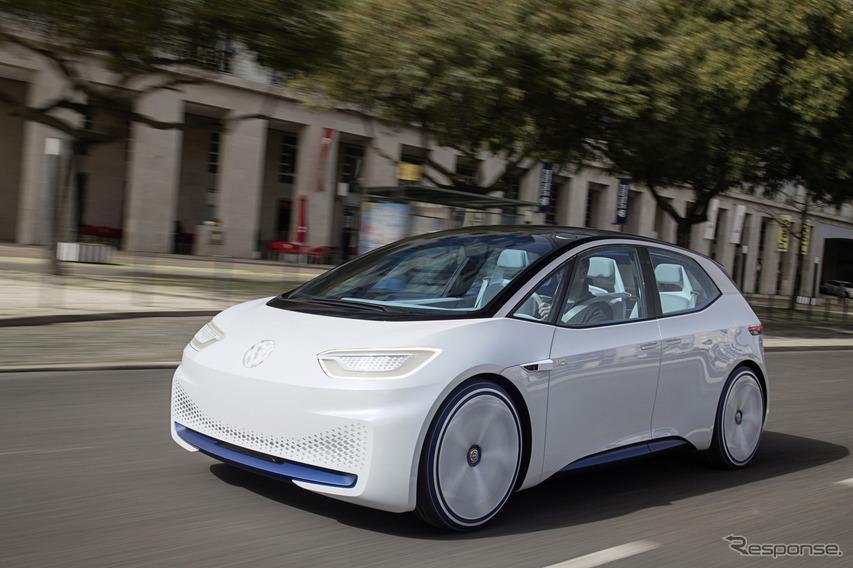 VWのEVスタディ:ID. コンセプト