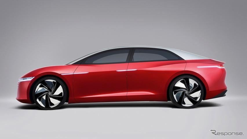 VWのEVスタディ:ID. ヴィジョン・コンセプト