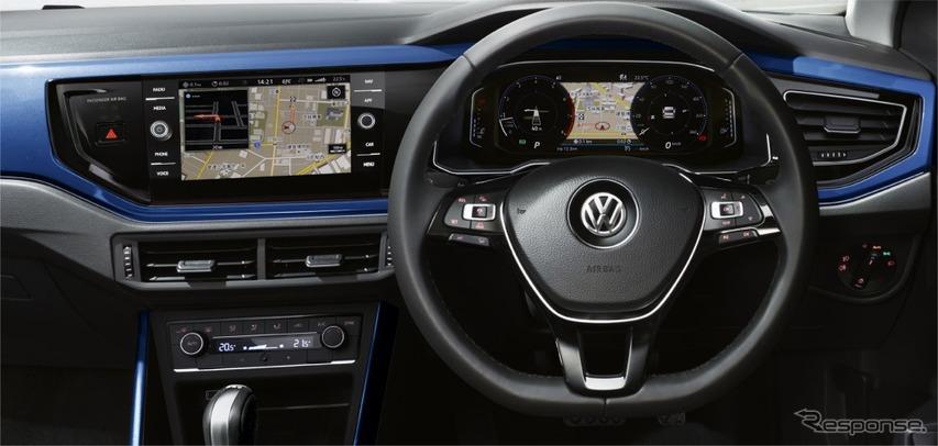 VW ポロ TSI R-ライン インテリア