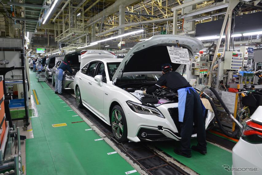 トヨタ自動車堤工場