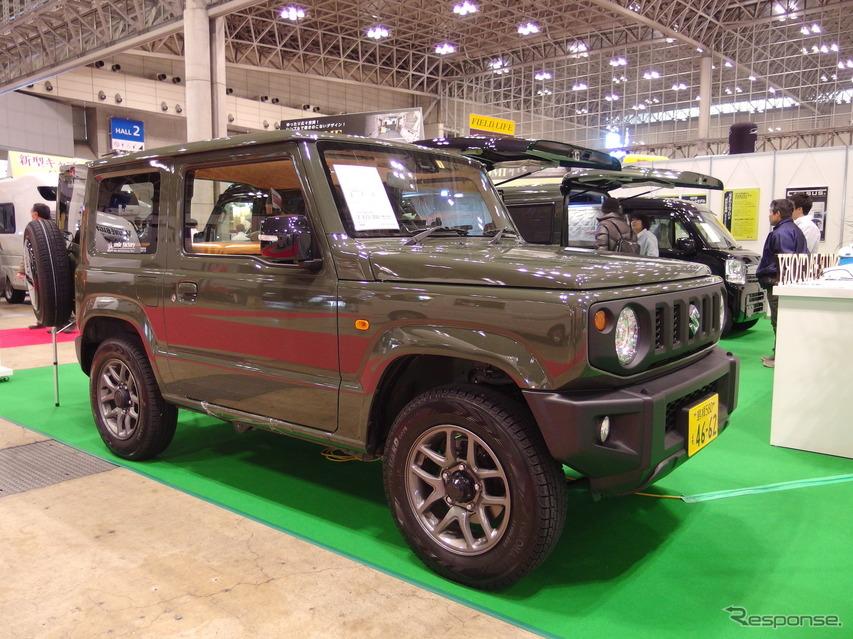 スマイルファクトリー・ジムニー(ジャパンキャンピングカーショー2019)