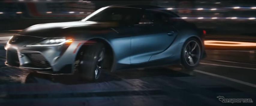 トヨタ スープラ 新型、実物大のピンボールマシンに挑む[動画]