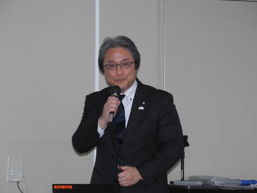 トヨタ コンパクトカーカンパニー製品企画ZP2チーフエンジニアの粥川宏氏