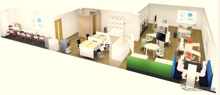 Ginza JTEKT Open INnovation center G-JOIN