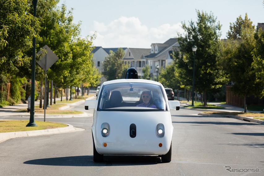 グーグル/ウェイモの自動運転車両