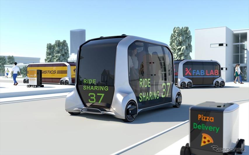 トヨタ自動車 e-パレット コンセプト