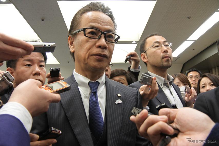 トヨタ自動車友山茂樹副社長