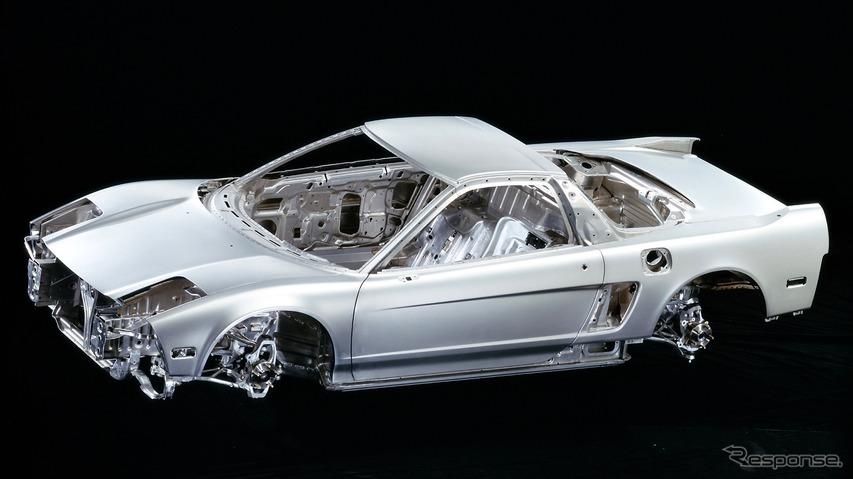 初代NSXのホワイトボディ