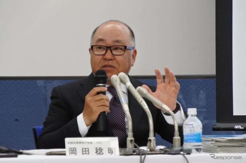 スバル 岡田稔明 取締役専務執行役員
