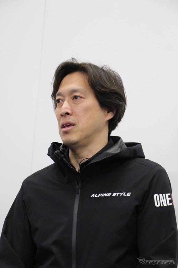 アルパインニューズ取締役の西田敬氏