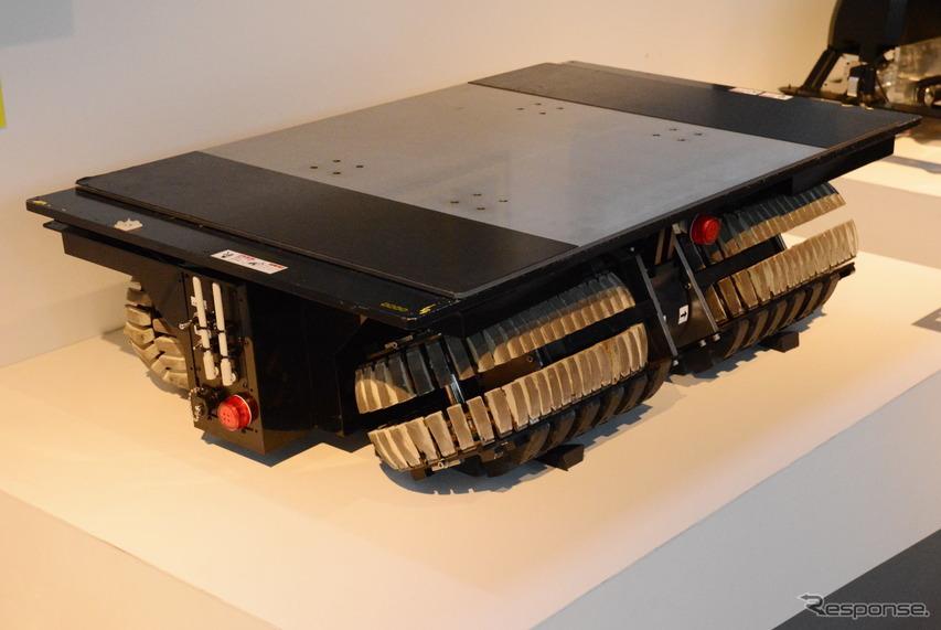 トピー工業の資材搬送支援ロボット