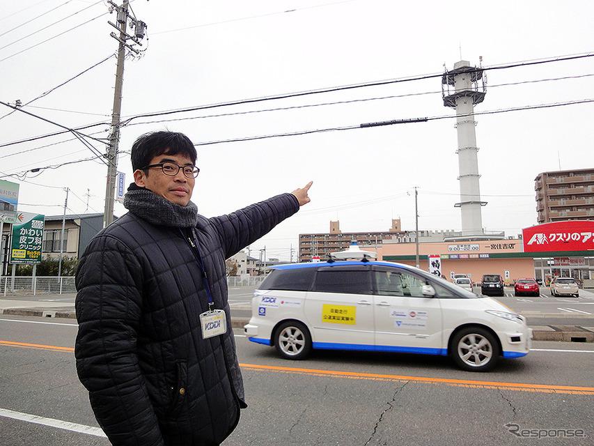 国内初、5Gで複数台の自動運転車を遠隔監視…遅延が減ってより速く 愛知県一宮市で実証実験