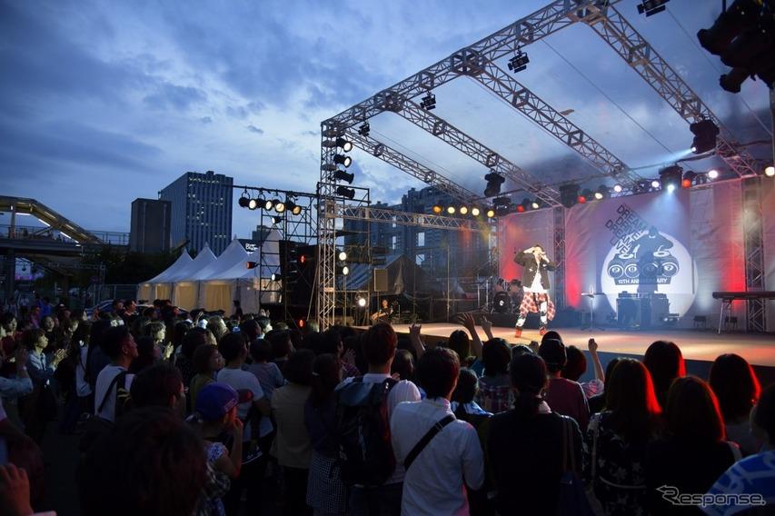 2017年のライブ風景