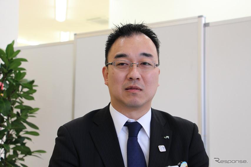JR東日本 千葉支社 総務部企画室 佐藤裕史さん