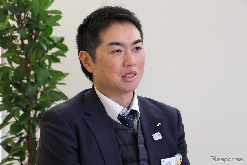 JR東日本 木更津地区指導センター 副長 宮澤聡さん