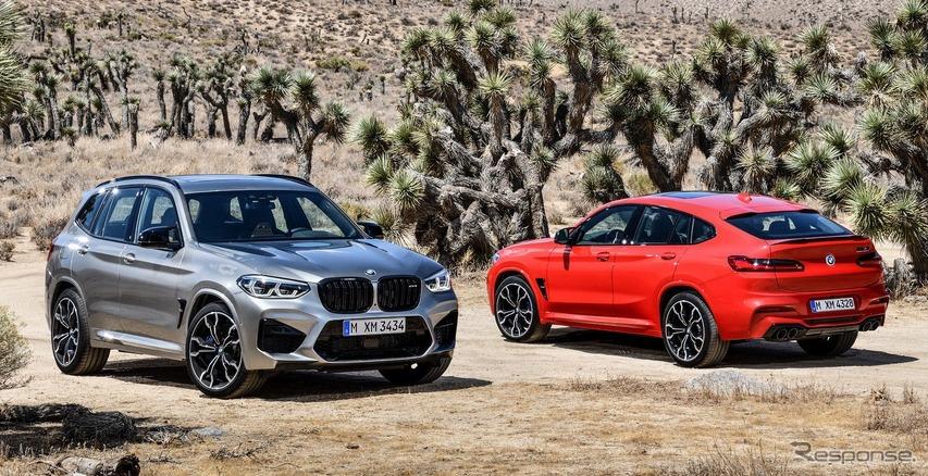 BMW X3 と X4 に初の「M」、510馬力の直6ツインターボ搭載