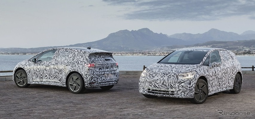 VWの次世代EV『ID.』、スマートフォンのような自動車に…常時ネット接続
