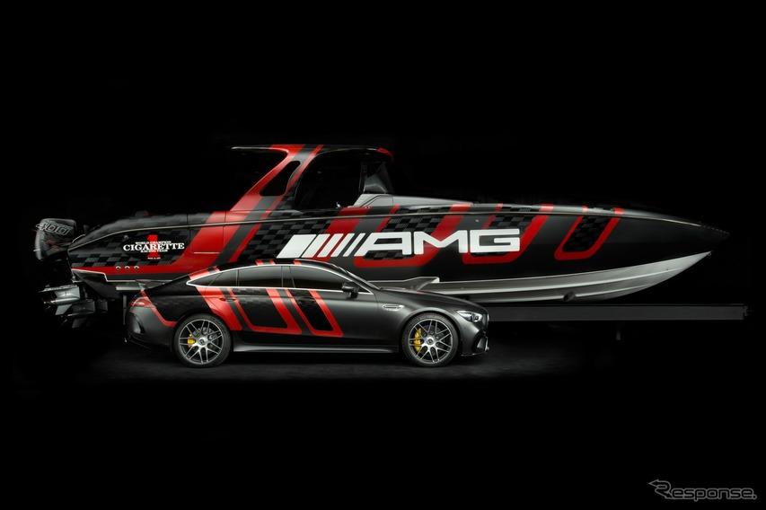 メルセデスAMG GT 63S 4ドアクーペとシガレットレーシング 41 AMGカーボンエディション