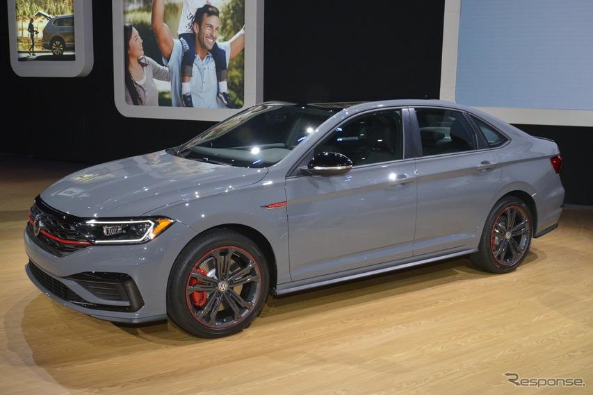VW ゴルフ GTI の4ドアセダン版、ジェッタ 新型 に「GLI」…シカゴモーターショー2019