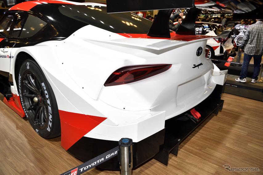トヨタ GRスープラSUPER GT(大阪オートメッセ2019)
