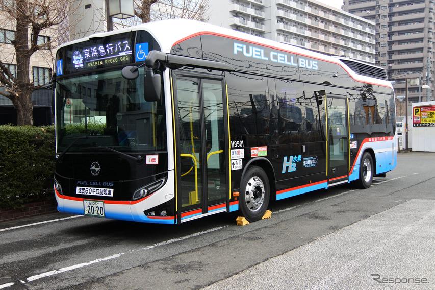 京急バス、燃料電池バスSORAを公開---3月1日から東京お台場地区 ...