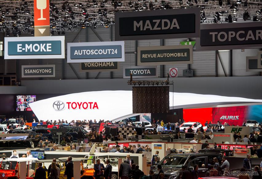トヨタ(ジュネーブモーターショー2018) (c) Getty Images