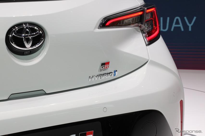 トヨタ カローラ GRスポーツ(ジュネーブモーターショー2019)