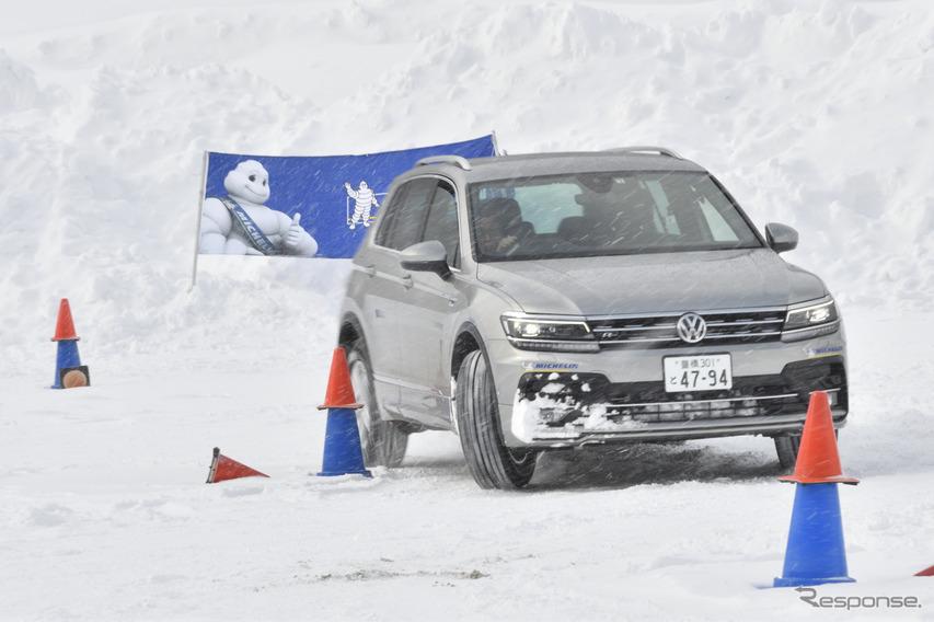VW雪上試乗会