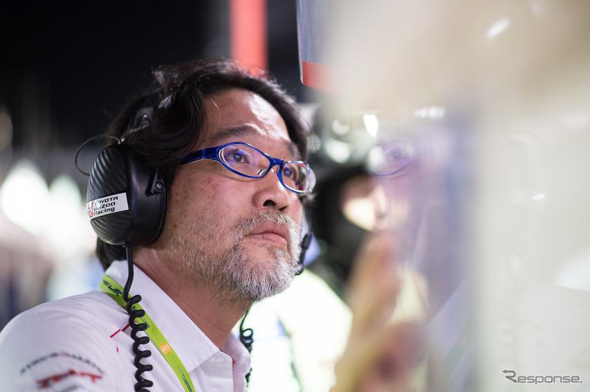 トヨタの村田久武チーム代表。