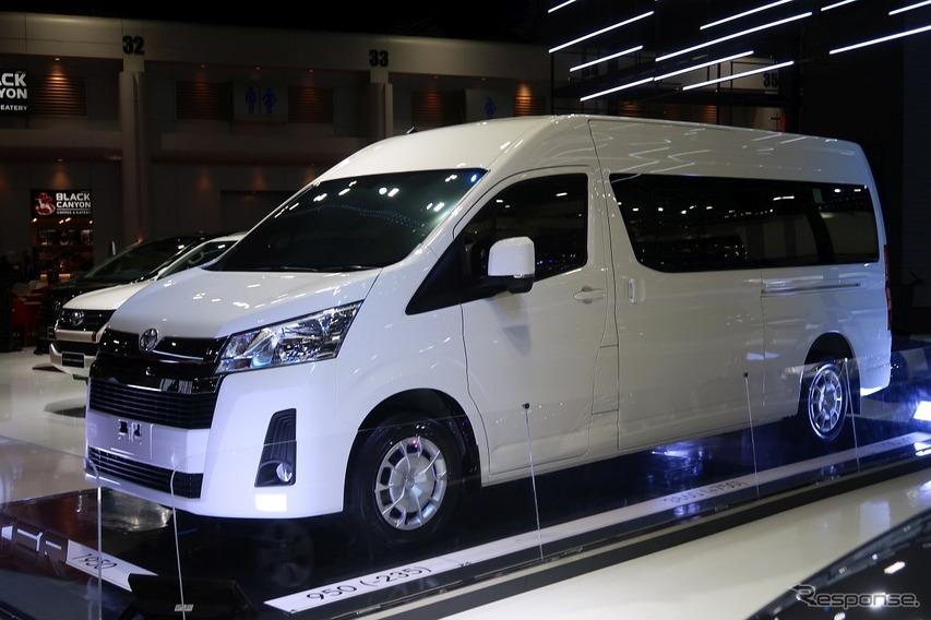 トヨタ・ハイエース新型(バンコクモーターショー2019)