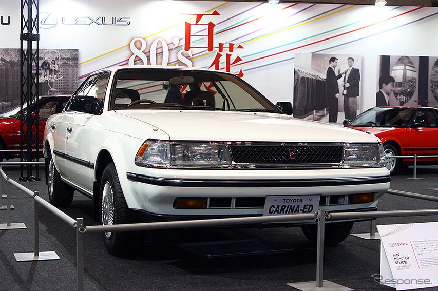トヨタ『カリーナED』(ST160型。オートモビルカウンシル2019)