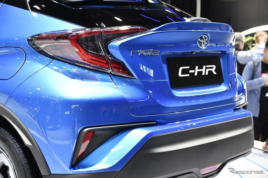 トヨタ C-HR EV(上海モーターショー2019)