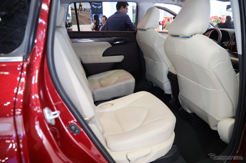 トヨタ ハイランダー 新型(ニューヨークモーターショー2019)