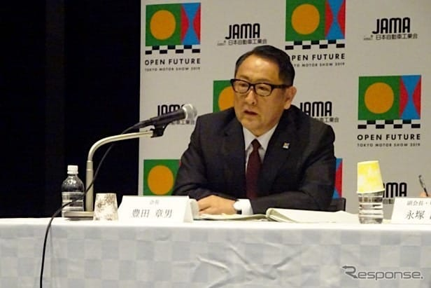 豊田章男会長(トヨタ自動車社長)