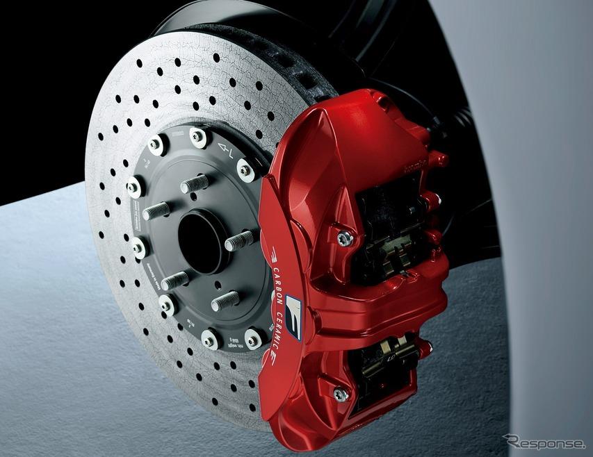 カーボンセラミックブレーキ/F専用レッドブレーキキャリパー
