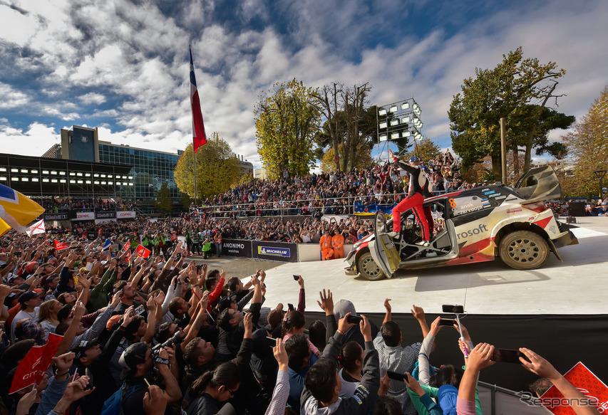 """初開催チリ戦を終え、""""WRCサーカス""""の次戦は欧州ポルトガル戦となる。"""