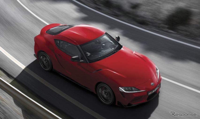 トヨタ スープラ 新型、今夏欧州市場で発売へ…直6ターボは340馬力