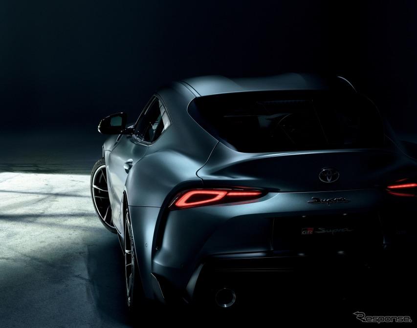 新型トヨタ・スープラ