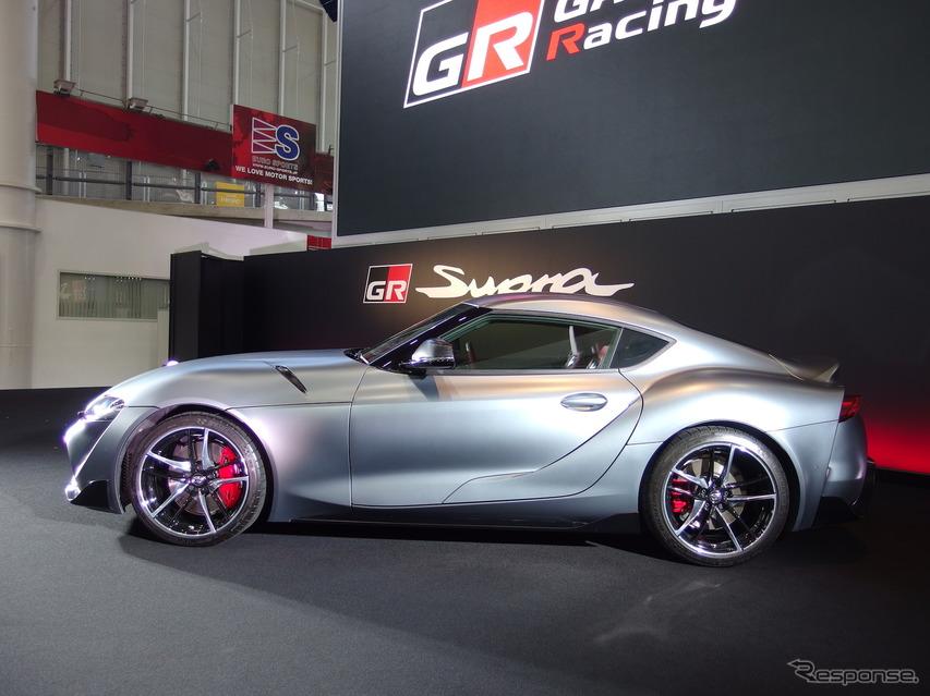 【トヨタ スープラ 新型】抽選で24台限定、マット・ストームグレーメタリック塗装の価格は722万円