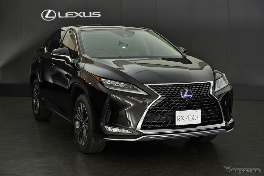 レクサス RX 改良新型、世界初公開 8月下旬国内発売へ