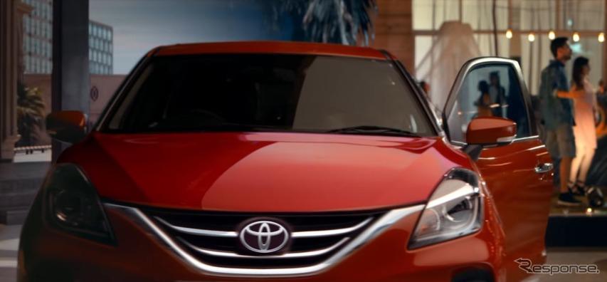 トヨタの新型ハッチバック『グランザ』、スズキ バレーノ のOEM…インド発売へ