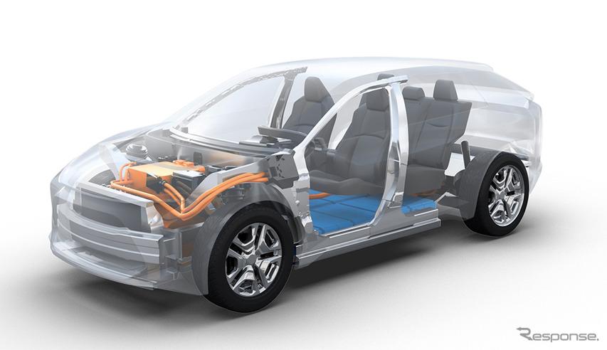 トヨタとスバル、SUVモデルのEVを共同開発へ