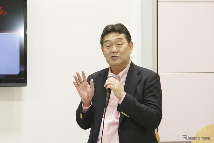 RAV4チームエンジニア佐伯禎一氏