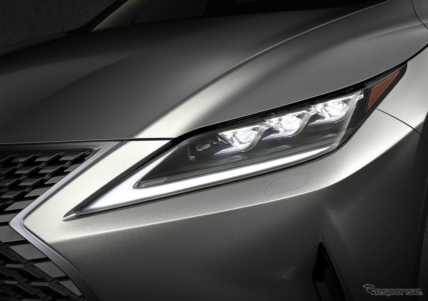 レクサス RX 改良新型(欧州仕様)