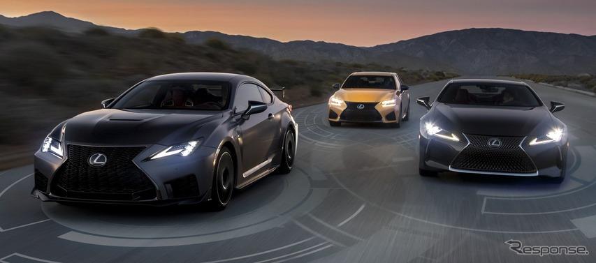 レクサス セーフティ システム+、全車に標準装備へ…米2020年モデルから
