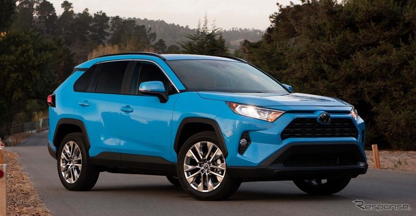 トヨタ米国販売3%減の115万台、RAV4 は新型効果が持続 2019年上半期