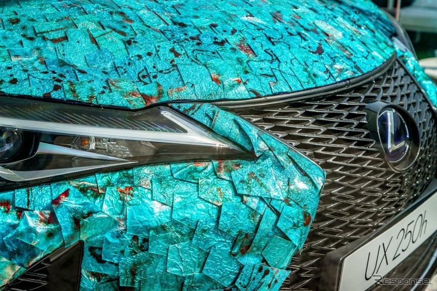 レクサス UX アートカーコンペティションの最優秀作品