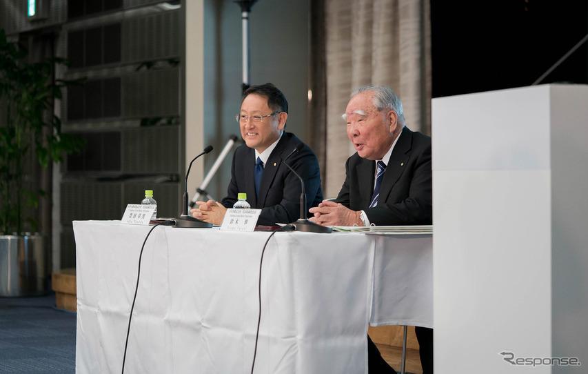 トヨタ、スズキ資本提携---時代映す記者会見なしの発進